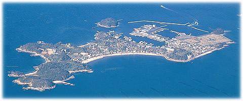 篠島航空写真