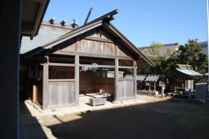 神明神社と八王子社